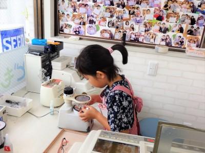 こども 子供 東京 都内 メガネ 眼鏡 ジルスチュアートNY 04-0026 メガネ作り体験