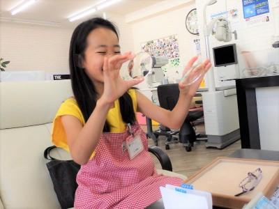 こども 子供 メガネ 眼鏡 東京 都内 江戸川区 瑞江 作り体験 ダズリン dazzlin DZF-1521