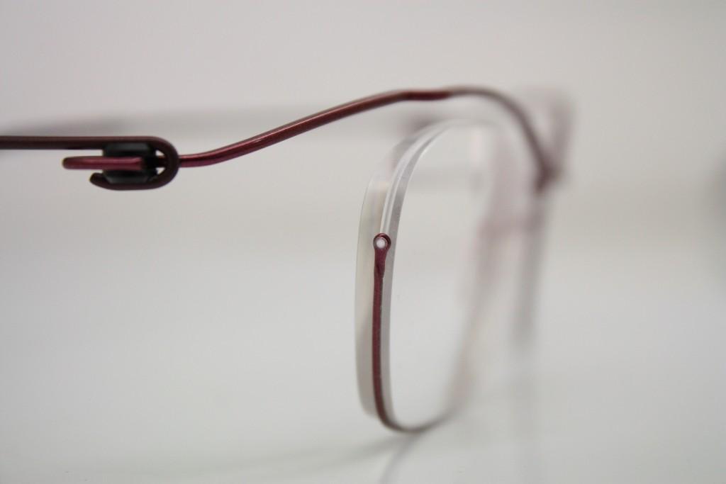 近視のメガネ 強度近視 レンズが厚い 江戸川