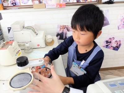こども 子供 メガネ 東京 都内 専門店 遠視性乱視弱視治療用眼鏡作り体験
