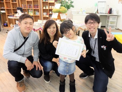 こども メガネ 専門店 東京 都内 トマトグラッシーズ TKCC14 弱視治療用眼鏡 作り体験