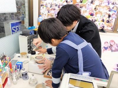 こどもメガネ 東京 都内 専門店 コンバース CV8043 眼鏡作り体験