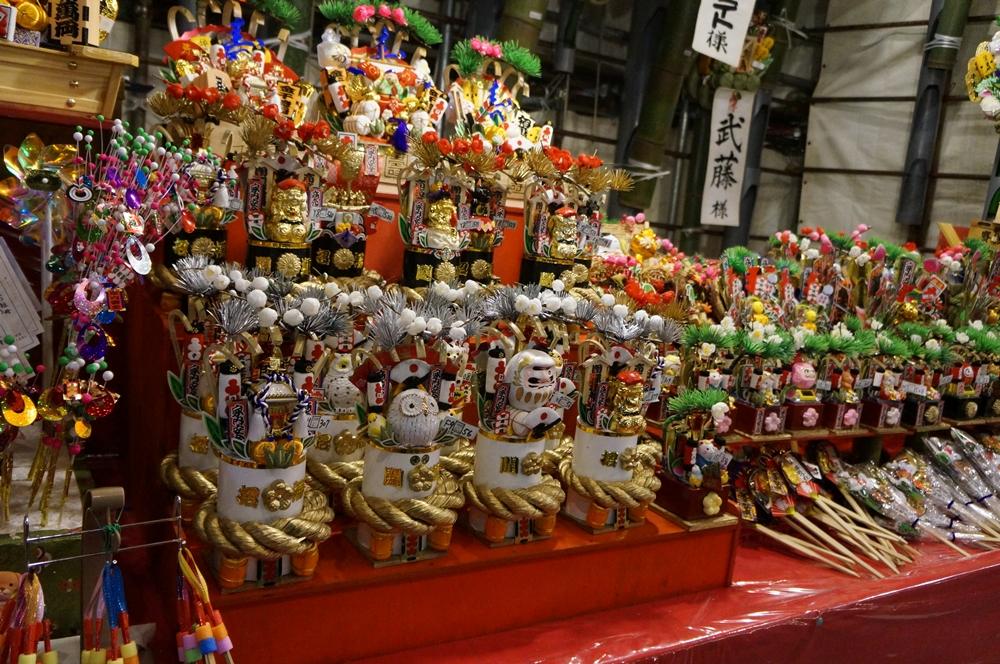 江戸川区 東京 良く見える ダブらないメガネ 酉の市 八百代