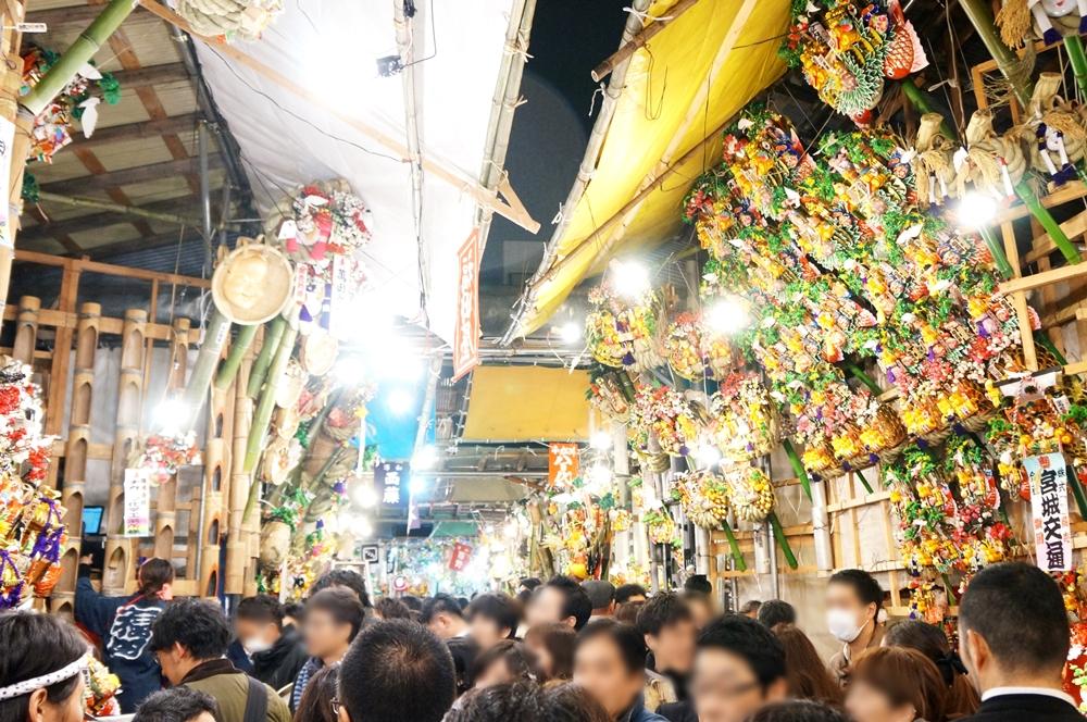江戸川区 メガネ 良く見える ダブらないメガネ 酉の市 八百代