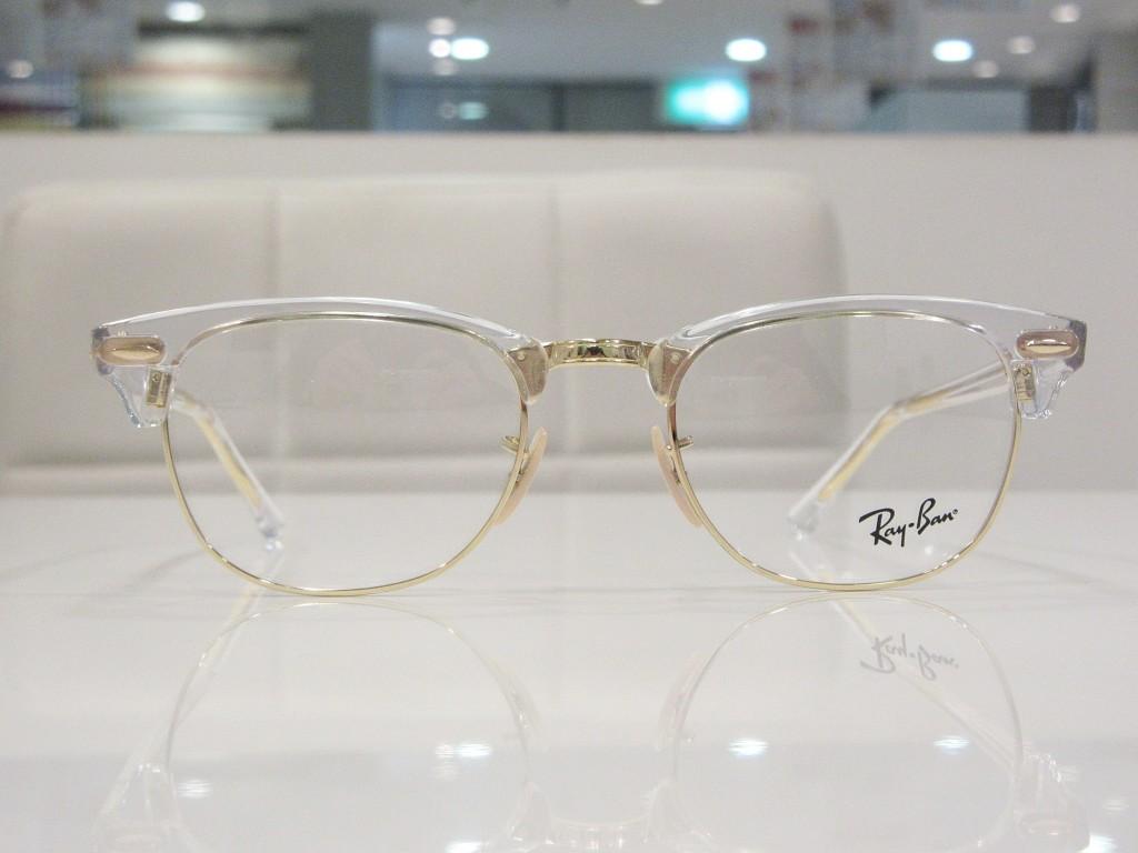 レイバン メガネ クラブマスター クラブラウンド 船堀 物がダブって見える メガネ 両眼視機能 プリズム検査
