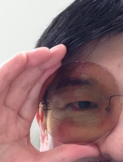 武蔵境 武蔵野市 メガネ 眼鏡 遮蔽レンズ オクルア オクルーダ 7