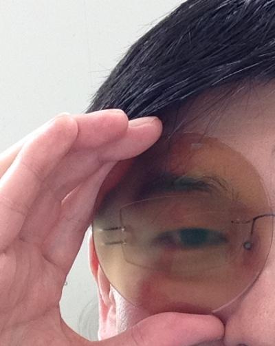 武蔵境 武蔵野市 メガネ 眼鏡 遮蔽レンズ オクルア オクルーダ 5