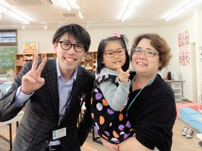 こどもメガネ 東京都内 専門店 ボンボニエール 遠視性弱視斜視治療用眼鏡