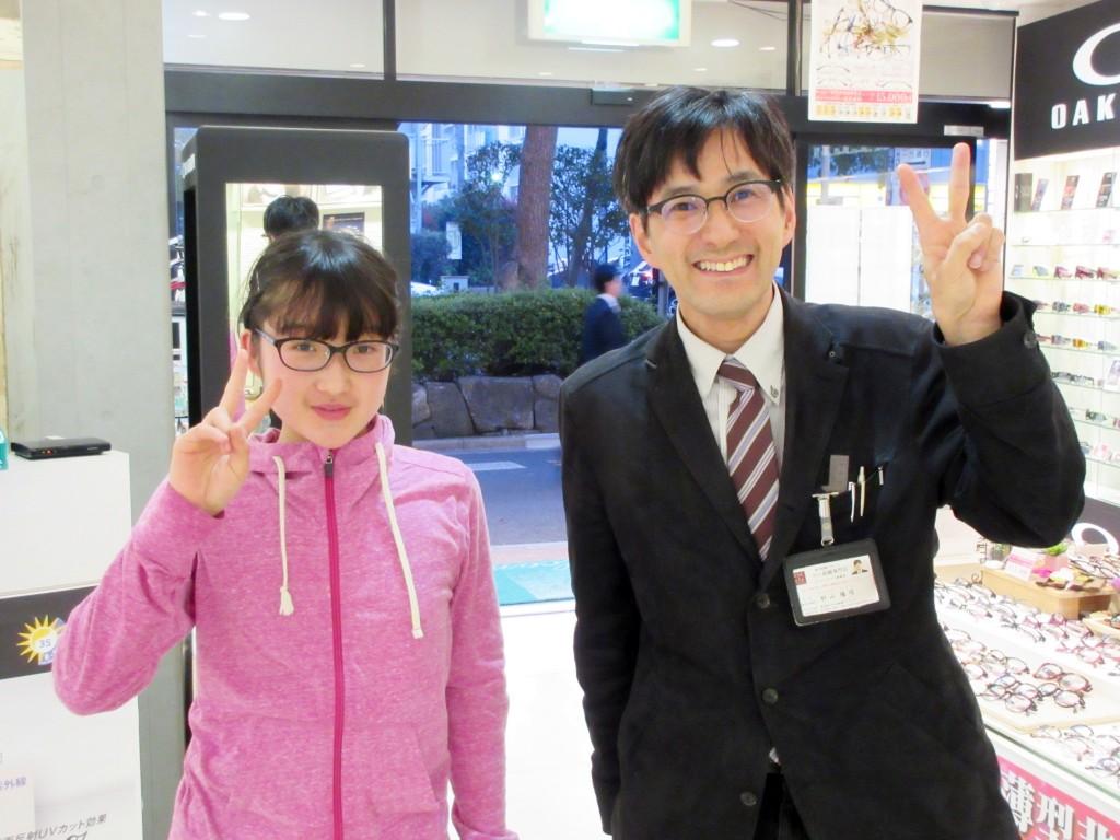 こどもメガネ 子供眼鏡 東京都江戸川区 船堀 メガネ作り体験 日経MJ こども 保証レンズ