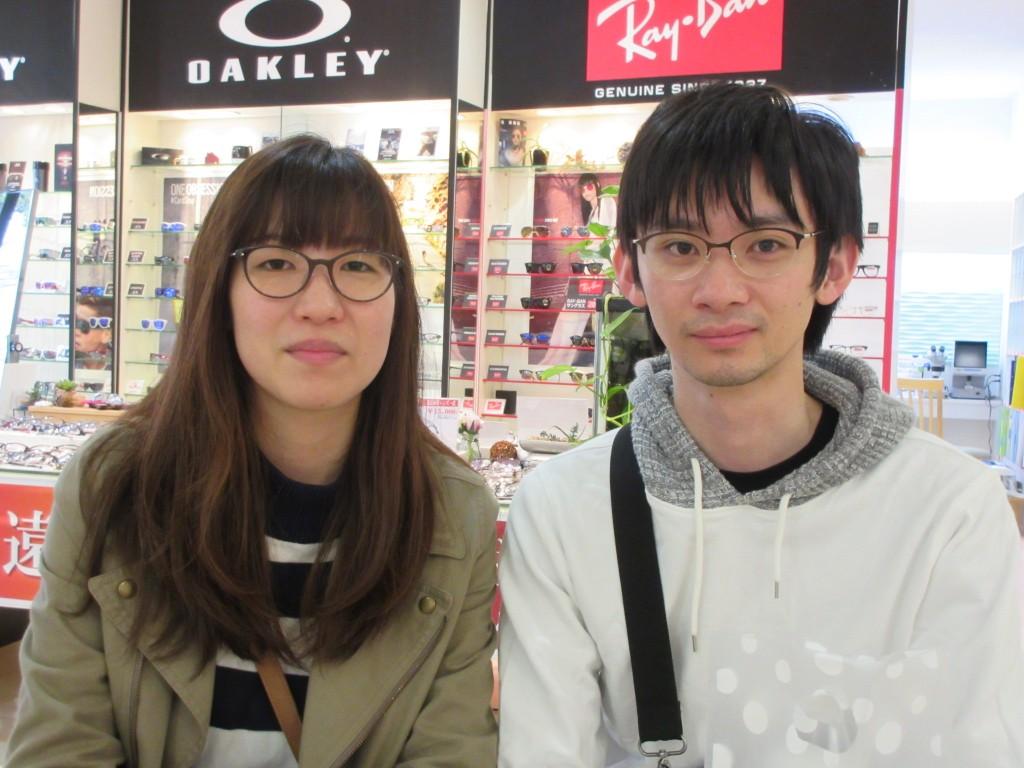 江戸川区 メガネ よくみえる 疲れない ダブらない HUSKYNOISE