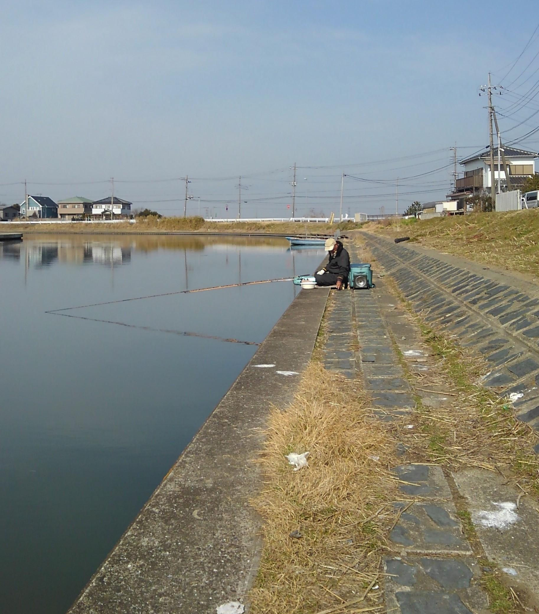 メガネのブログ 釣り日誌 偏光レンズ 偏光サングラス 江戸川