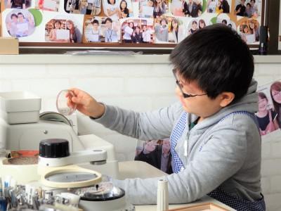 こどもメガネ 東京都内 コンバース CV8042 メガネ作り体験 弱視治療用眼鏡