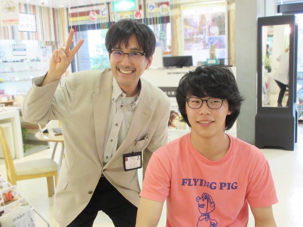 ジャポニスム JAPONISM センス メガネ 東京都内 江戸川区 物がダブって見える 両眼視機能 プリズム検査