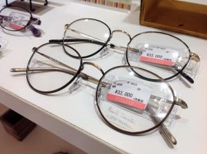 ブランドフレーム 人気のメガネ 江戸川