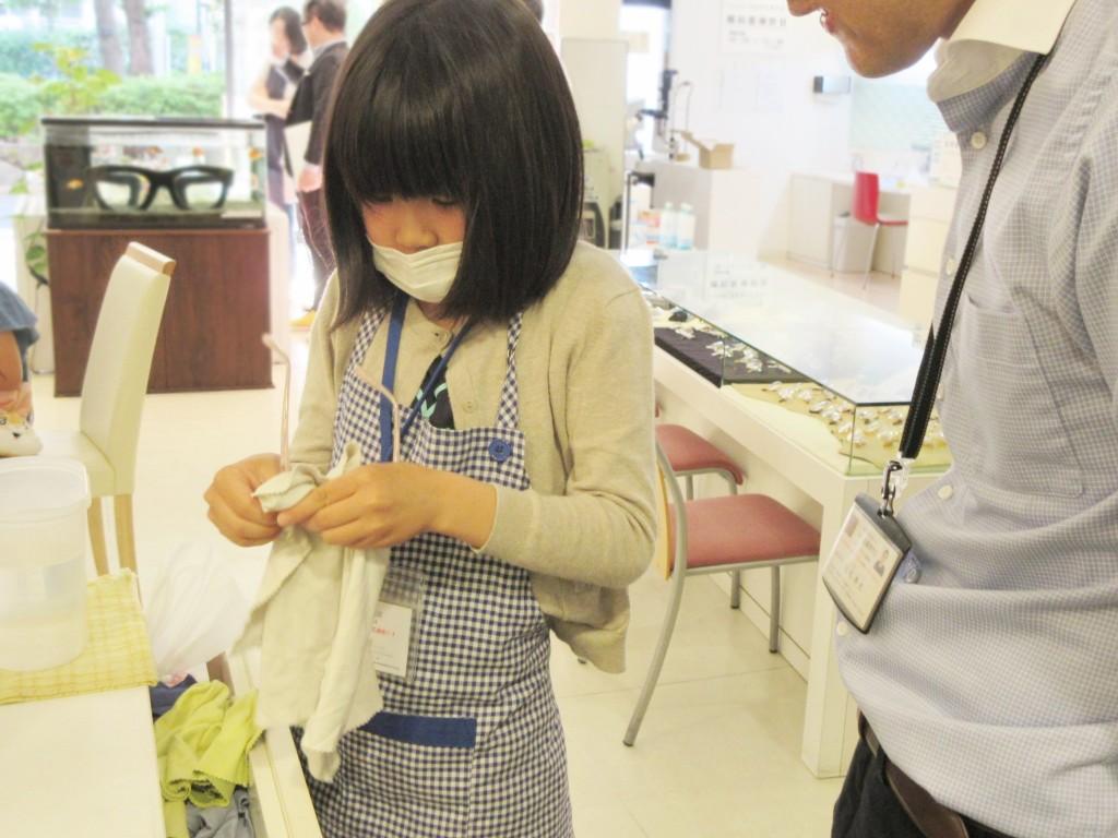 こどもメガネ メガネ作り体験 東京都江戸川区 ジルスチュアートNY 04-0030 子供眼鏡 口コミ