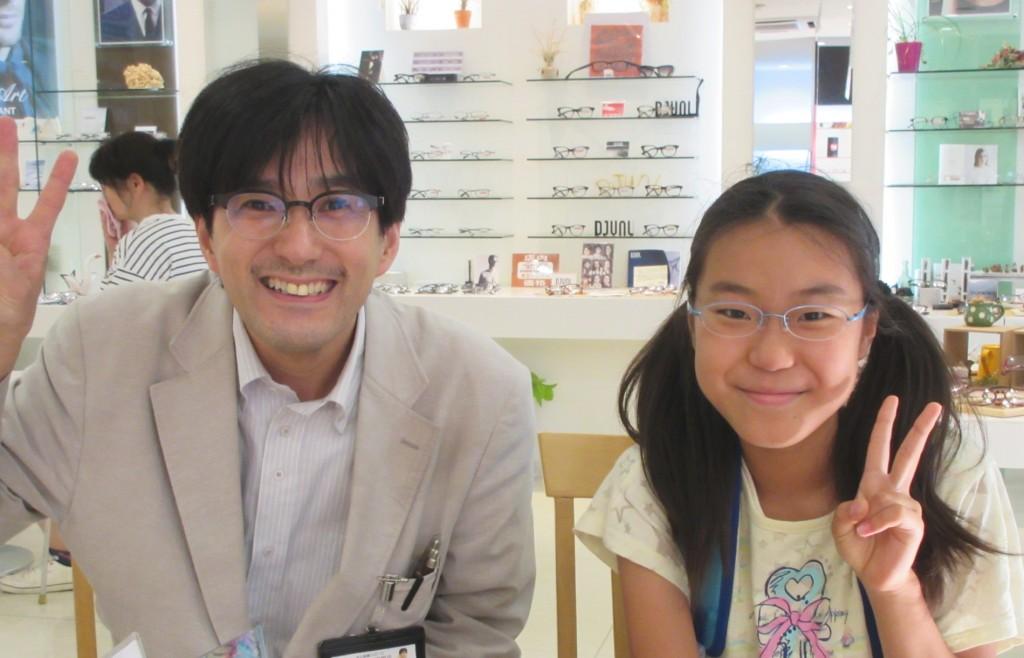 両眼視機能検査 カラー診断 コンタクトレンズ 子供メガネ 江戸川区