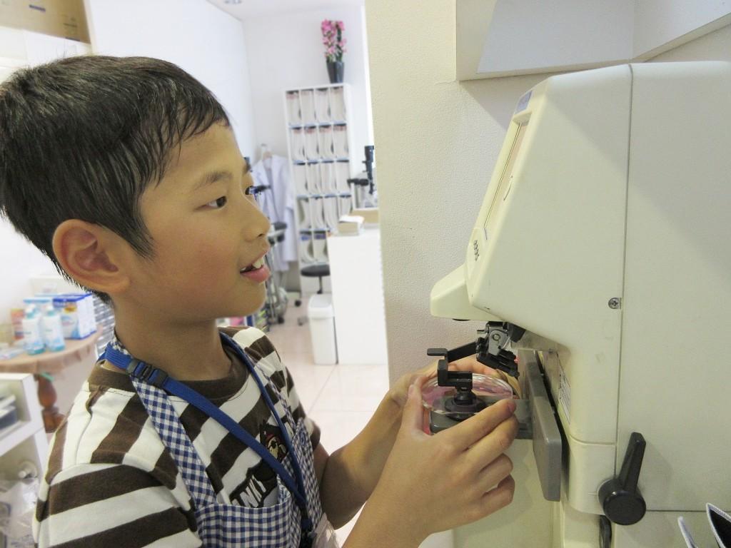 メガネ作り体験 東京都 江戸川区 船堀 こども 眼鏡 子供 メガネ 口コミ 小児用治療用眼鏡