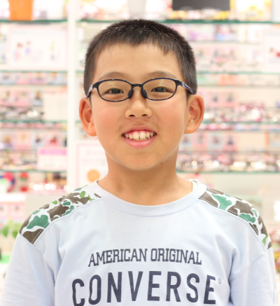 武蔵野市 武蔵境 メガネ 眼鏡 こどもメガネ キッズ 瞬足 -