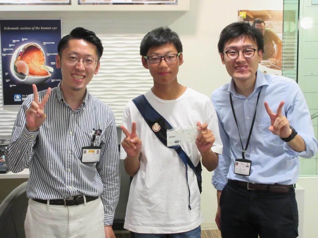 東京 都内 江戸川区 船堀 眼鏡作り体験