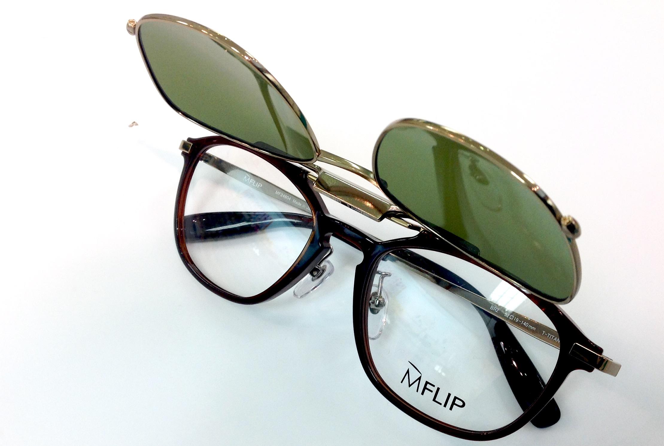 武蔵野市 メガネ 口コミ 評判 サングラス 偏光 度付きサングラス クリップオン 跳ね上げ