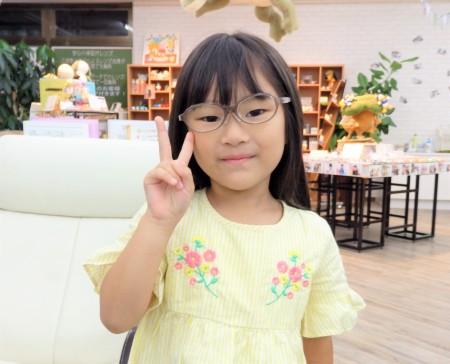 こどもメガネ 東京都内 専門店 遠視性乱視弱視治療用眼鏡 トマトグラッシーズ TKAC27