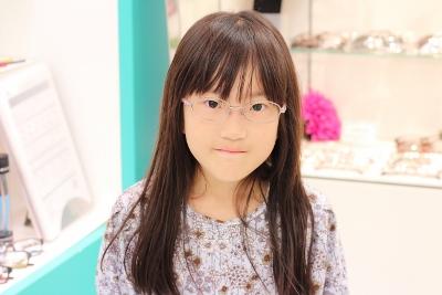 武蔵野市 メガネ 口コミ 評判 子供 小学生 中学生 ジルスチュアートNY 女の子 人気