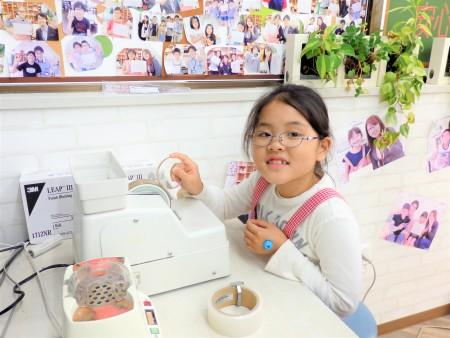 東京都内 こどもメガネ 子供眼鏡 コドモめがね 作り体験 弱視治療用眼鏡 メゾピアノ MP-115