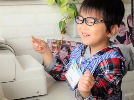 東京都内 こどもメガネ 子供眼鏡作り体験 トマトグラッシーズ TKCC6 弱視治療用眼鏡