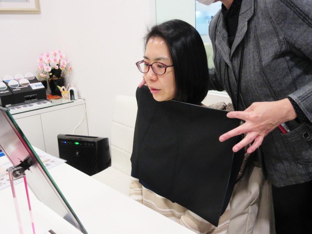 カラー診断 パーソナルカラー 東京都 江戸川区 船堀 眼鏡 めがね メガネ