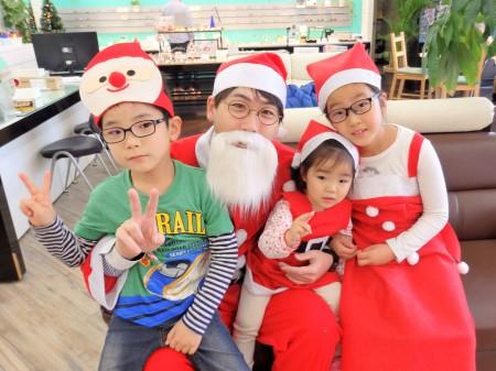 東京都内 子供眼鏡 こどもメガネ 専門店 クリスマスイベント