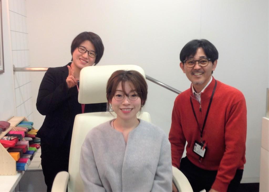 女性のメガネ 軽いメガネ 日本のメガネ 江戸川