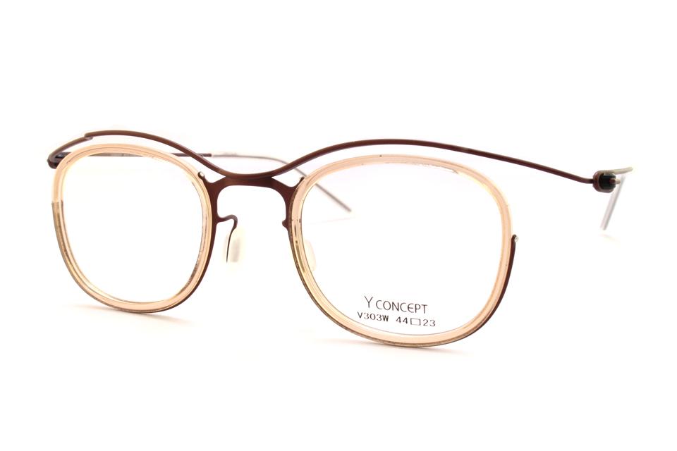軽いメガネ y-concept メガネ女子 江戸川