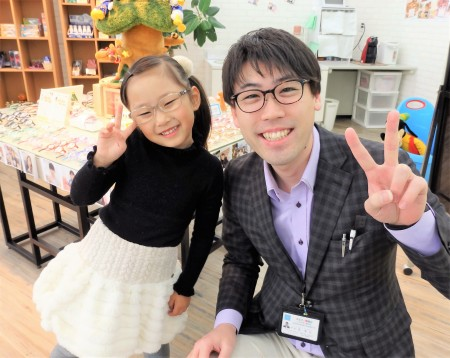 東京都内 子供眼鏡 こどもメガネ 専門店 弱視治療用眼鏡 トマトグラッシーズ TKCC4