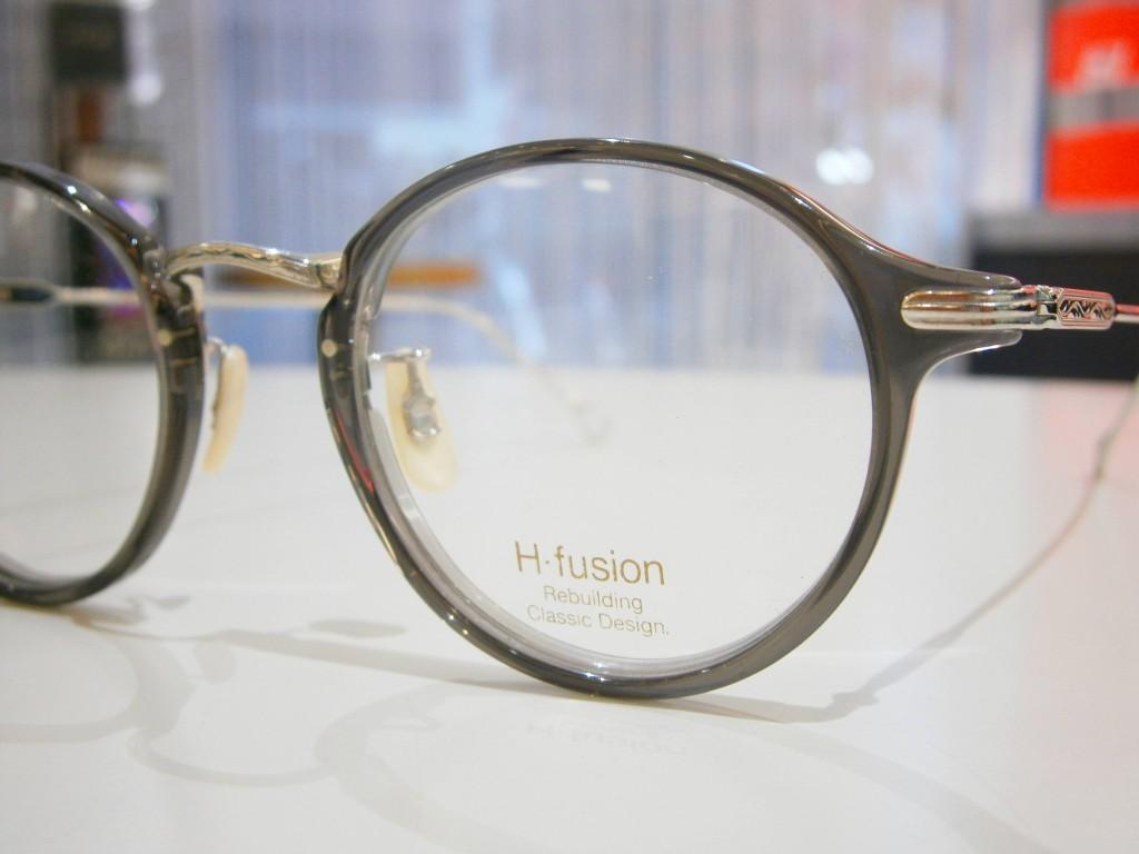 H-fusion エイチフュージョン メガネ 東京