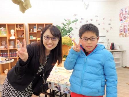 東京 都内 子供 眼鏡 専門店 コンバース cv8052 初メガネ 近視