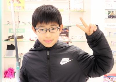 子供眼鏡 瞬足 小学生 中学生 こども キッズフレーム 武蔵野市 東京都