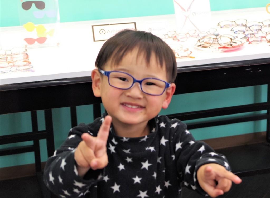 弱視治療用子供眼鏡 子供メガネ 東京都 江戸川区