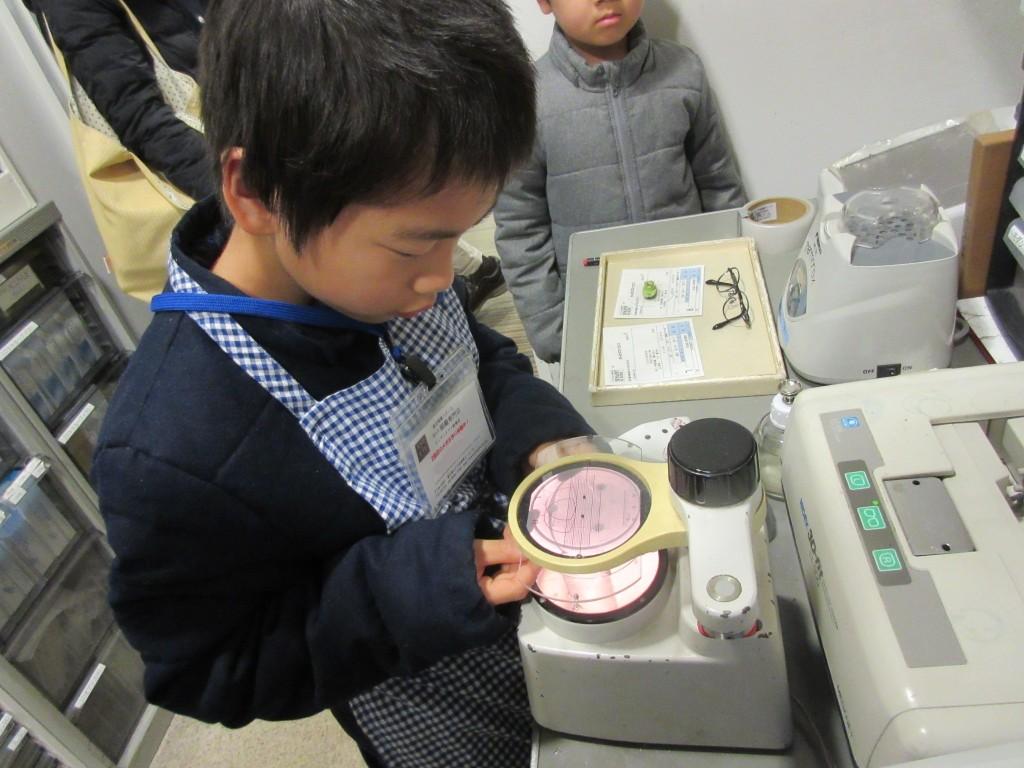 メガネ作り体験 視力検査 東京 江戸川区 船堀 子供メガネ