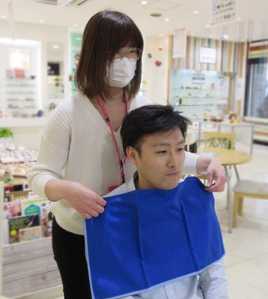 パーソナルカラー診断 東京都 江戸川区 船堀 メガネ 視力検査