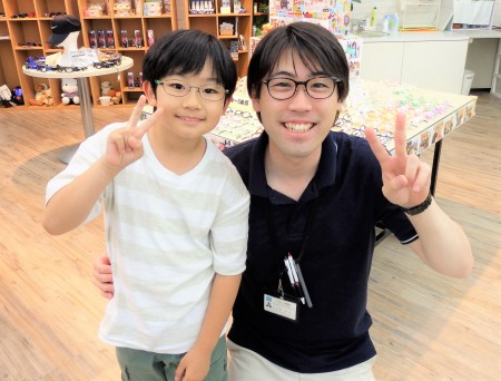東京 都内 子供眼鏡 子供メガネ 弱視治療用眼鏡 専門店 リーバイス 46-0002