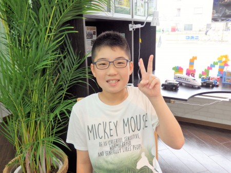 東京 都内 子供眼鏡 こどもメガネ 専門店 近視 初眼鏡 EYEsCLOUD EC-1057