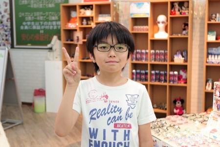 東京 都内 斜視 弱視治療用眼鏡 トマトグラッシーズ TJAC12