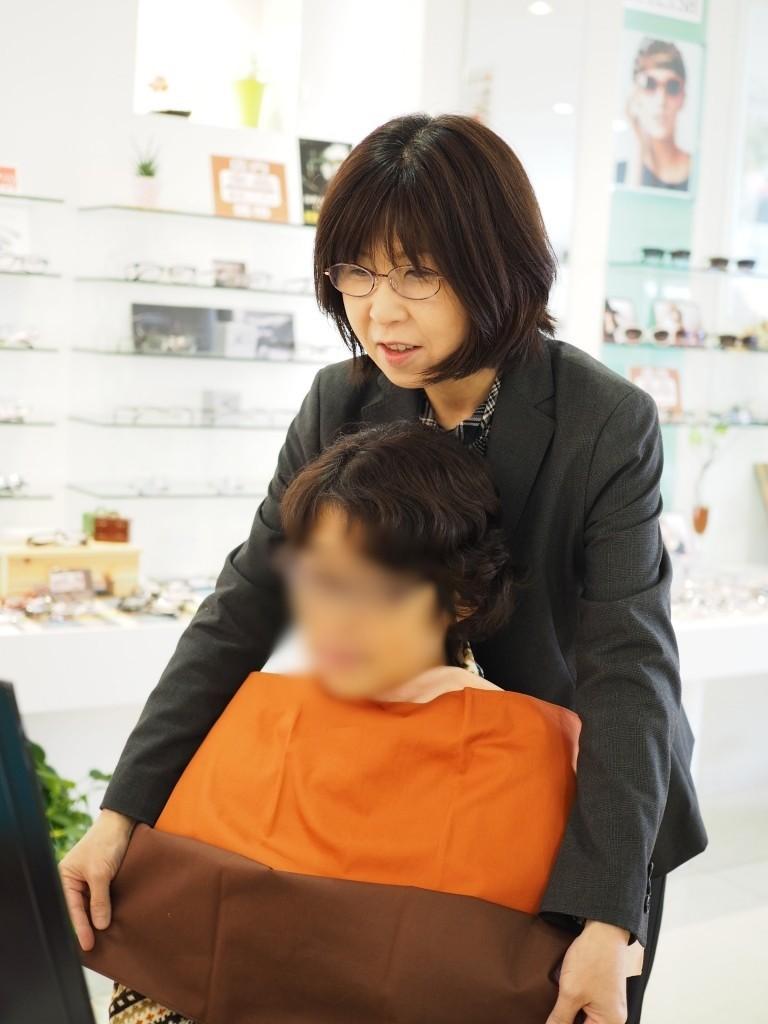 パーソナルカラー診断 東京都 江戸川区 船堀 眼鏡 めがね 視力検査 メガネ