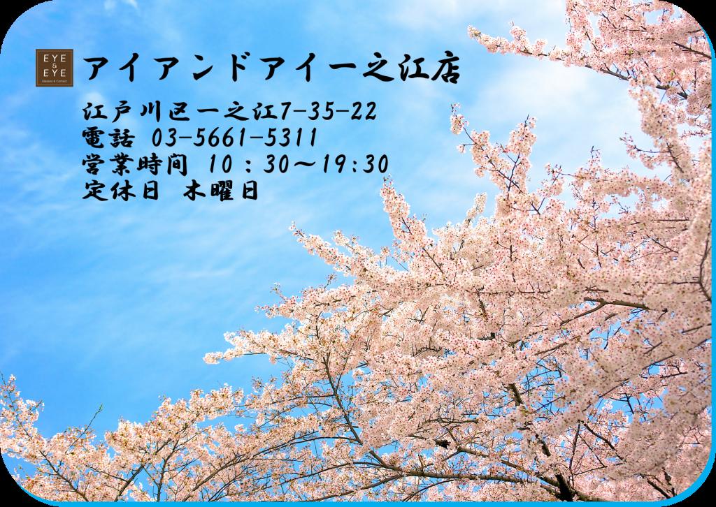 東京 都内 江戸川区 一之江 メガネ 花粉