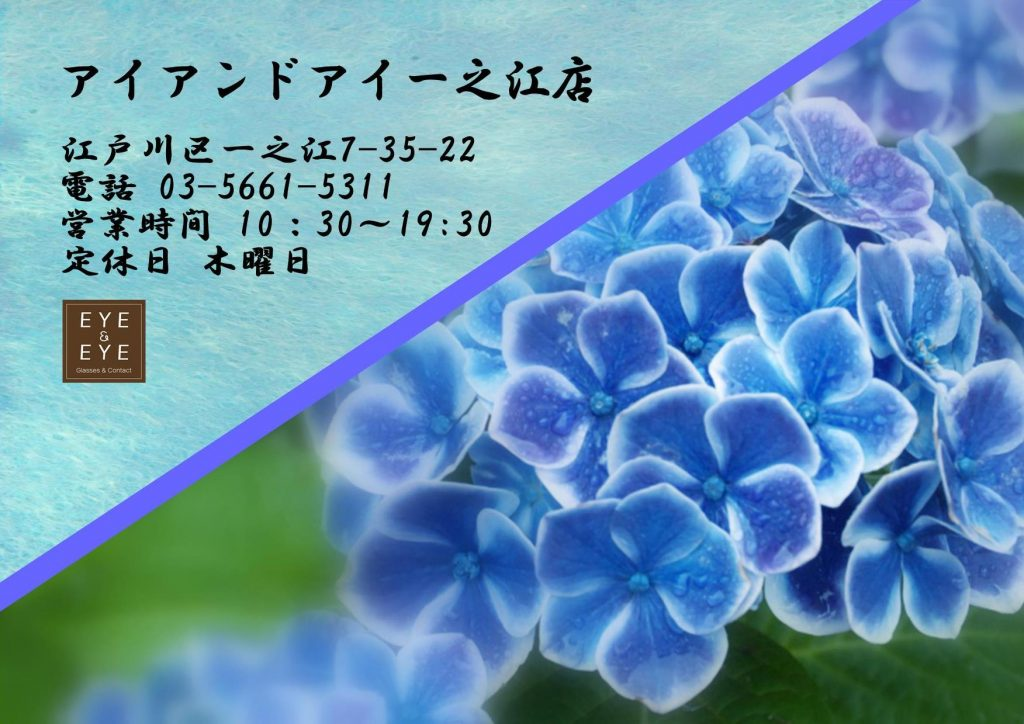 東京都 江戸川区 一之江 メガネ 国産 鯖江 おすすめ メイドインジャパン 日本