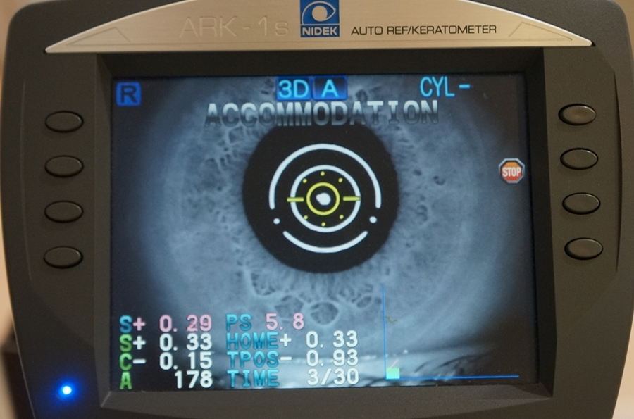 視力検査,江戸川区,東京,老眼,調節力